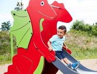HPL play equipment HAGS