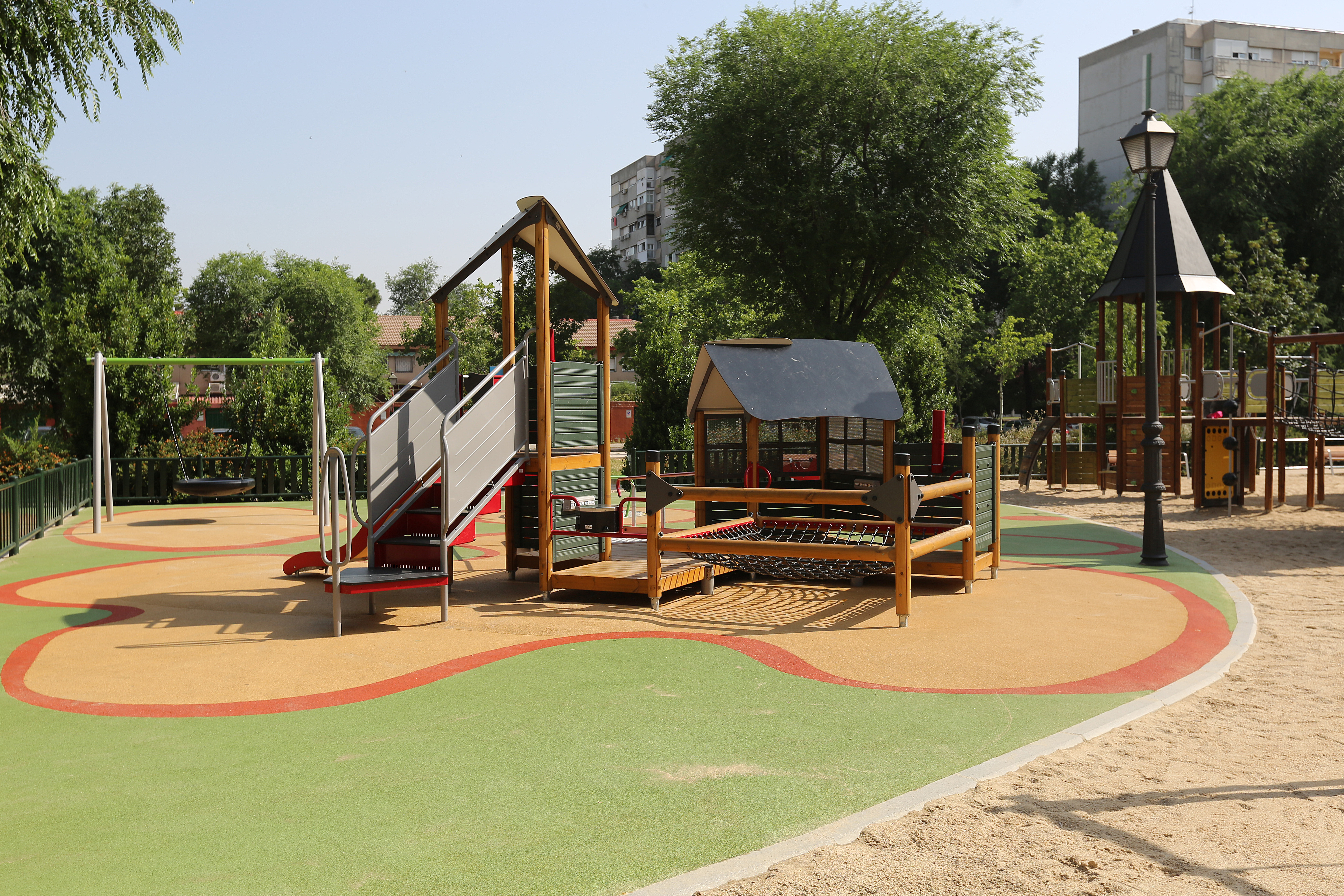 Accessible Playground in Spain