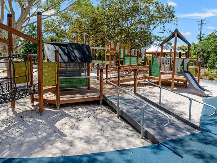inclusive playground multi-play unit in Australia