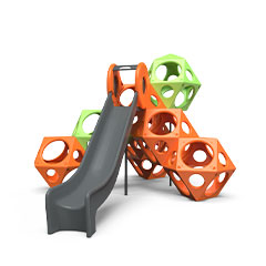 plastic slide for playgrounds