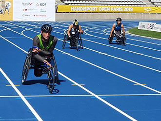 wheelchair racing at world para athletics grand prix in Paris